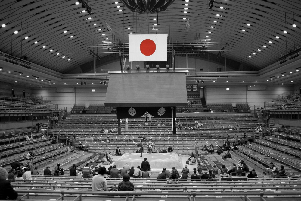 photoblog image Sumo Tournament, Osaka